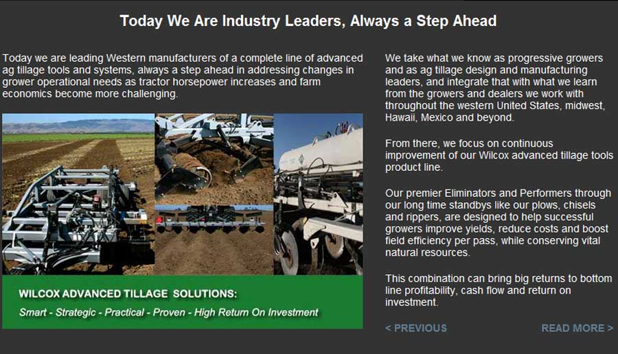 Industry-Leader---Wilcox-Agri-Products