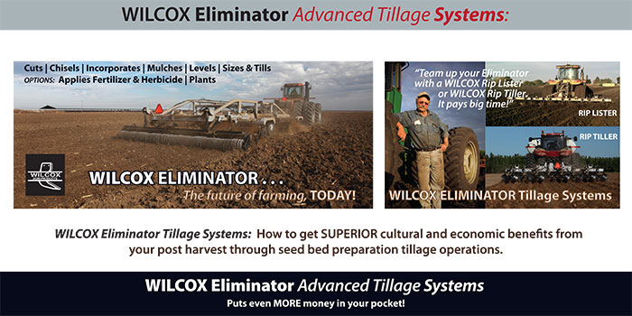 WILCOX-Eliminator-Tillage-Systems